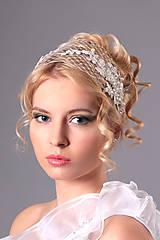 Ozdoby do vlasov - francúzsky závoj
