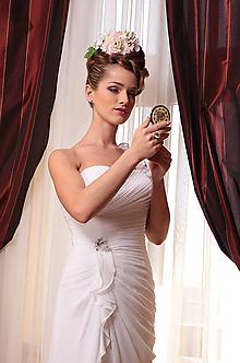 """Ozdoby do vlasov - spona """"Mária Antoinetta"""", typ 92a - 5366122_"""