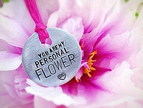 Kľúčenky - MY PERSONAL FLOWER - 5367314_