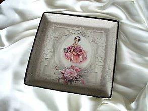 Nádoby - Dekoračný tanier - 5366195_