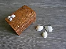 Krabičky - šperkovnica v antickom štýle - 5367255_