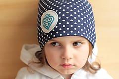 - Jarná tenká čiapočka so srdiečkom - 5365719_