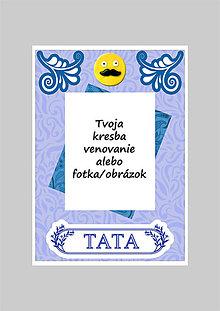 Papiernictvo - Koláž - pohľadnica na Deň otcov (A5) - 5364212_