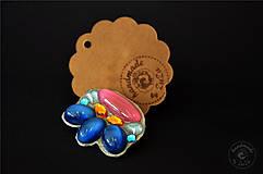Odznaky/Brošne - spring brooch - 5371962_