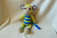 Hračky - Veselá opička :) - 5368565_