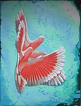 """Obrazy - Akrylová maľba """"Navždy spolu"""" - 5371903_"""