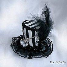 Ozdoby do vlasov - Steampunk malý cyliner s hodinkami - 5371966_