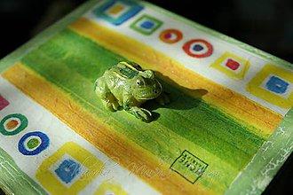 Krabičky - krabička žabky - 5370642_