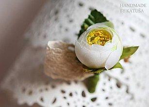 Pierka - svadobné pierko pivonka - 5376217_