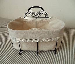 Košíky - Košík oválny s jednou rúčkou - 5373215_