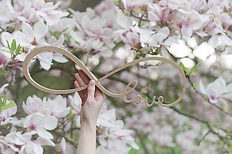 Dekorácie - love infinity