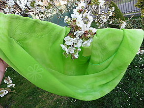 Šály - šál zelený - 5379253_
