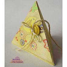 Krabičky - Krabička s jarným nádychom - 5376952_