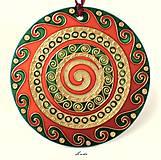 Dekorácie - Spiral Mandala 3 - 5378068_
