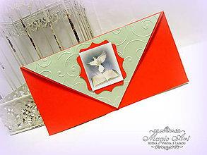 Papiernictvo - Darčeková obálka na birmovku - 5379891_