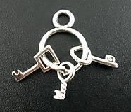 - Prívesok zväzok kľúčov - 5378763_