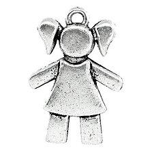 Komponenty - Prívesok dievčatko - 5379205_