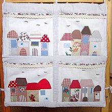 Textil - Domčekový kapsár - tak trochu vintage - 5377545_