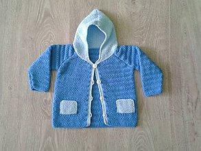 Detské oblečenie - Svetrík s vreckami - 5381800_