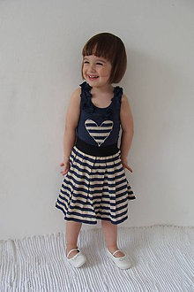 Detské súpravy - suknička+tielko-p - 5381381_