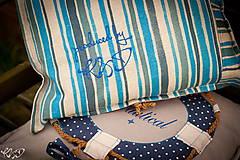 Úžitkový textil - Vankúšik Nautical No.2- ešte vymakanejší :) - 5385210_