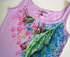 Tielka - ružové čerešničky - 5385945_