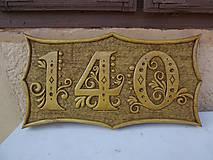 Dekorácie - Tabuľa na dom - 5383772_