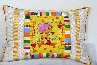 Úžitkový textil - Vankúš - chrobáčik - 5385722_