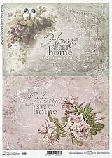 - Ryžový papier Home sweet home 730 - 5383829_