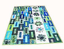 Úžitkový textil - Key Lime quilt - 5388822_