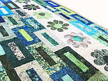 Úžitkový textil - Key Lime quilt - 5388824_