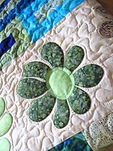 Úžitkový textil - Key Lime quilt - 5388829_