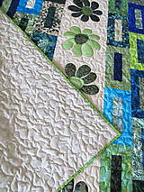 Úžitkový textil - Key Lime quilt - 5388832_