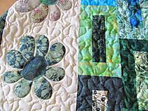 Úžitkový textil - Key Lime quilt - 5388833_