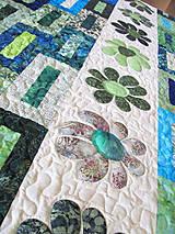 Úžitkový textil - Key Lime quilt - 5388834_