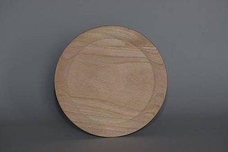 Polotovary - Drevený tanier na zdobenie - 5389486_