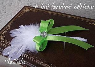 Pierka - svadobné pierko pre rodičov č.14 - 5388836_