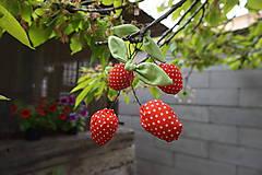 Dekorácie - čerešničky,čerešničky červené - 5388683_