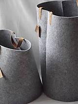 Košíky - Kôš filcový vysoký - 5387420_