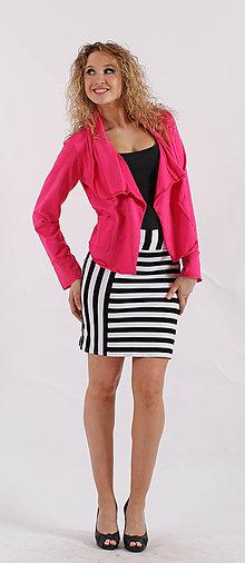 Kabáty - Růžové sáčko - 5391978_