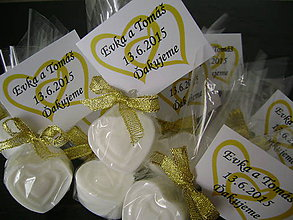 Darčeky pre svadobčanov - Voňavučké svadbové darčeky - 5393623_
