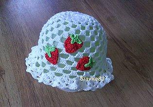Detské čiapky - Klobúčik - 5391143_