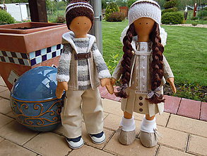 Bábiky - Adam a Lujza - 5389786_