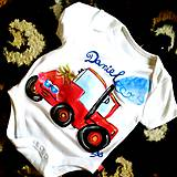 - Maľované bodko traktor Daniel - 5389714_