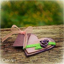 Darčeky pre svadobčanov - Darčeky pre svadobných hostí - menovky - 5391483_
