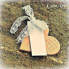 Darčeky pre svadobčanov - Darčeky pre svadobných hostí - menovky - 5391553_
