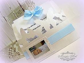 Papiernictvo - Pokrstiťsa idem dať! - s fotkou - 5390919_