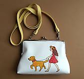 Detské tašky - dievča s venčekom - 5392735_