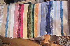 Úžitkový textil - Pestrý koberec - 5391975_