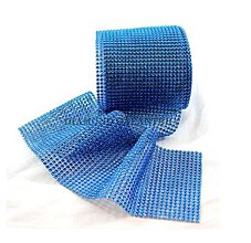 Galantéria - Kamienková stuha kráľovská modrá - cena za 10 cm - 5396425_